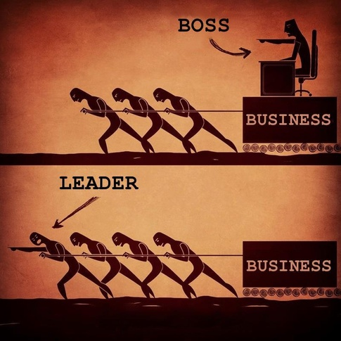 Are you a boss, or a leader?