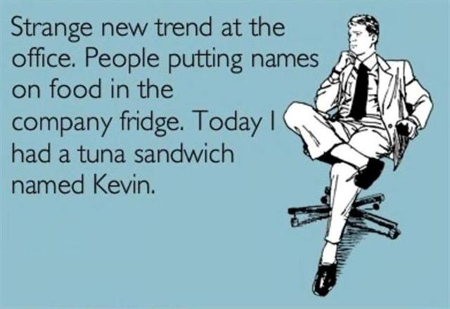 A Sandwich named Kevin