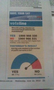 Adelaide Advertiser Infographic
